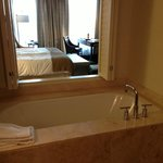 Bathtub in a Tower Executive King