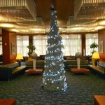 Hall dell'Hotel a Natale