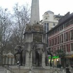 La Fontaine des Elephants (Fountain of Elephants)