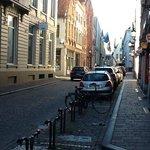 street outside hotel
