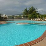 piscine très matinale