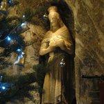 Salt figure of Saint Kinga of Poland