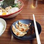 ラーメン+餃子+半ライス