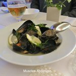 Muscles Appetizer