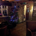 The White Horse Inn, 52 Banbury Road, Ettington, CV37 7SU at Christmas.
