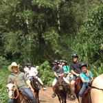 horseback ride, beautiful trails