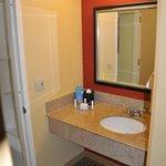 Suite 342 vanity and sink