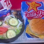 HUGE 99 cent kiddy burger and salad