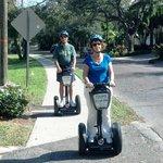 Sue & Wayne along Bayshore Dr.