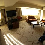Fish eye shot of the junior suite