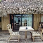 Nuestra casa en Bora Bora x 4 días :)