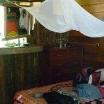 Las camas tienen mosquiteros