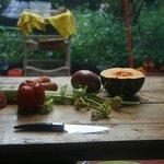La cocina está abierta para los visitantes
