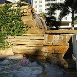 Jacuzzi/waterfall