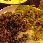 Lao lap with infamous pork gelly! Lao lap a la gelée de porc