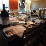 Breakfast in Exec lounge