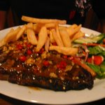 delicious steak, looks and taste great every time!