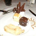 Desserts excellent