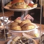 Tea Tower - Four Seasons Hotel, Swann Lounge and Cafe, Philadelphia
