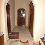 Room doorway