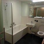 Badezimmer in den Exlusiv-Zimmern