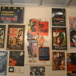 Wall of posters