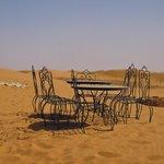 colazione nel deserto