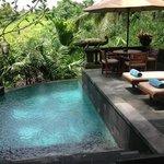 Villa 4 - Poolbereich