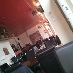 Konaki interior just after opening for lunch