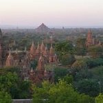 Nearby Temples at Sunset