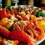 YOSOY Gran plato de mariscos
