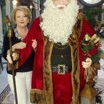 Santa in the Arcade 2012