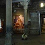 Inside Ramana's ashram