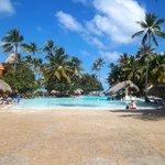 la piscine Caribe