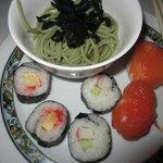 """Sushi and """"OK"""" Soba"""
