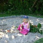 Sandpit for the little ones