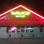 Now Named Habachi Buffet... Exterior View