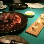 Cheese and Meat plate, nice