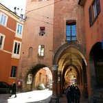 View of Old City Gate in Bologna