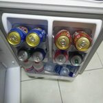 When you arrive your fridge is full:)
