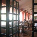 Dining room at main restaurant - La Hacienda
