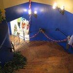 La Hacienda - there are stairs to climb