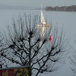 View from room_Lac Léman-Geneva Lake_Winter