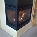 This is an amazing fireplace that can keep you warm all night long.