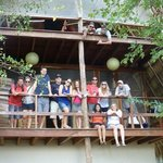 13 buddies from Toronto at our cottage in Maderas Village