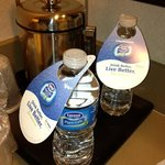 Choose your water. Free or 4 bucks! HA!