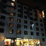 visuale esterna dell'albergo