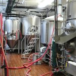 Full scale brewery in the basement.