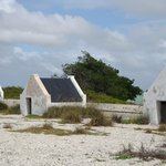 North end. Bonaire. Slave Huts from 1800s.