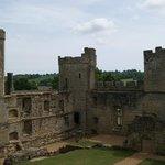 Innenseite der Burg